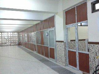 Ankara Gazi Üniversitesi iç mekan bölmeleri