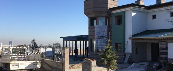 Ankara İncek Villa Alüminyum Doğrama Cam İşlerimiz